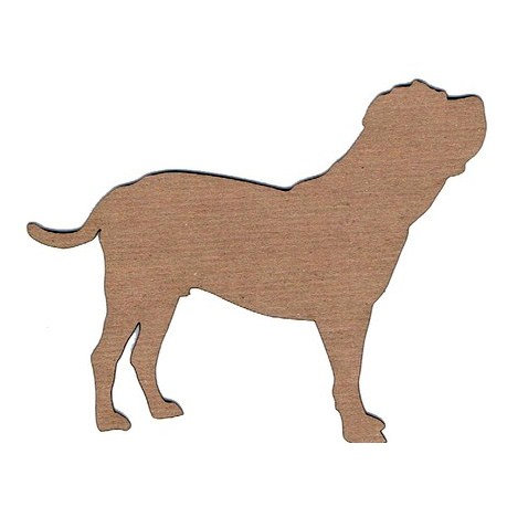 Leaky Shed Studio - Animal Collection - Chipboard Shapes - Rottweiler