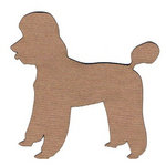 Leaky Shed Studio - Animal Collection - Chipboard Shapes - Poodle 2