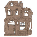 Leaky Shed Studio - Chipboard Shapes - Old House