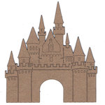 Leaky Shed Studio - Chipboard Shapes - Chipboard Castle
