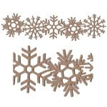 Leaky Shed Studio - Chipboard Shapes - Christmas - Snowflake Border Chip - Large