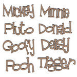 Leaky Shed Studio - Chipboard Words - Character Name Set
