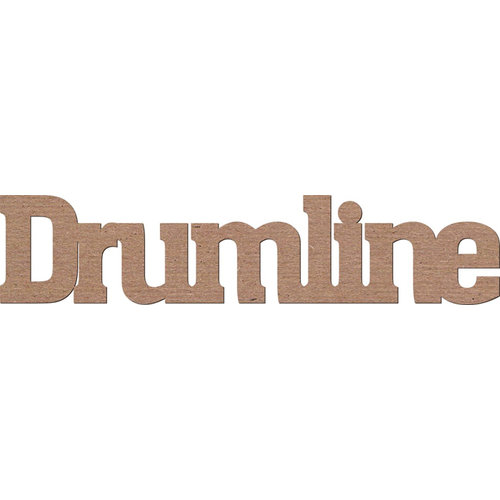 Leaky Shed Studio - Activity Collection - Chipboard Words - Drumline
