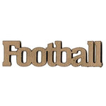 Leaky Shed Studio - Sport Collection - Chipboard Words - Football