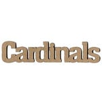 Leaky Shed Studio - Mascot Collection - Chipboard Words - Cardinals