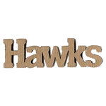 Leaky Shed Studio - Mascot Collection - Chipboard Words - Hawks