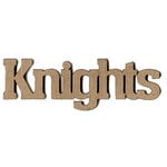 Leaky Shed Studio - Mascot Collection - Chipboard Words - Knights