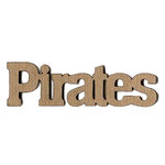 Leaky Shed Studio - Mascot Collection - Chipboard Words - Pirates