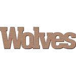 Leaky Shed Studio - Mascot Collection - Chipboard Words - Wolves