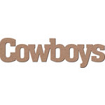 Leaky Shed Studio - Mascot Collection - Chipboard Words - Cowboys