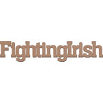 Leaky Shed Studio - Mascot Collection - Chipboard Words - Fighting Irish