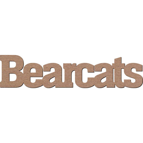 Leaky Shed Studio - Mascot Collection - Chipboard Words - Bearcats