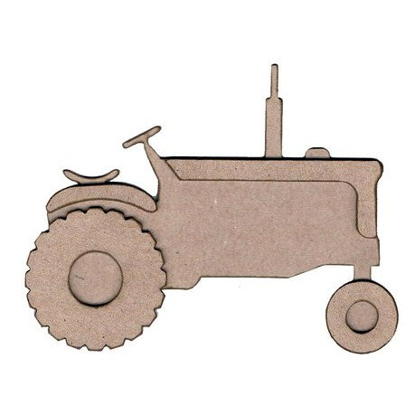 Leaky Shed Studio - Chipboard Shapes - Tractor