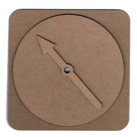 Leaky Shed Studio - Chipboard Shapes - Game Spinner