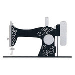 Leaky Shed Studio - Cardstock Die Cuts - Sewing Machine