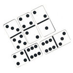 Leaky Shed Studio - Cardstock Die Cuts - Dominos