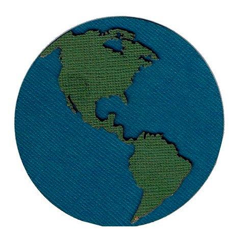 Leaky Shed Studio - Cardstock Die Cuts - Globe