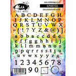 Visible Image - Clear Acrylic Stamps - Alphabetical