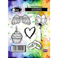Visible Image - Clear Photopolymer Stamps - Accessorize