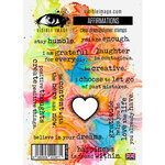 Visible Image - Clear Photopolymer Stamps - Affirmations