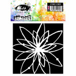 Visible Image - 6 x 6 Stencil - Atomic Flower