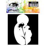 Visible Image - 6 x 6 Stencil - Baby Bloom