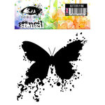Visible Image - 6 x 6 Stencil - Butterfly Ink