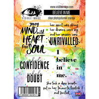 Visible Image - Clear Photopolymer Stamps - Believe in Me
