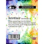 Visible Image - Clear Acrylic Stamps - Brother Definition