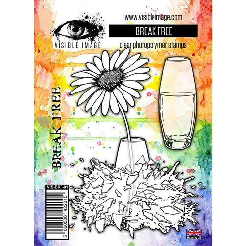 Visible Image - Clear Photopolymer Stamps - Break Free