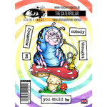 Visible Image - Alice in Wonderland Collection - Clear Acrylic Stamps - The Caterpillar