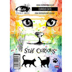 Visible Image - Clear Acrylic Stamps - Curious Cats
