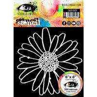 Visible Image - 6 x 6 Stencil - Daisy Daisy