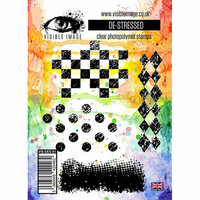 Visible Image - Clear Acrylic Stamps - De-stressed