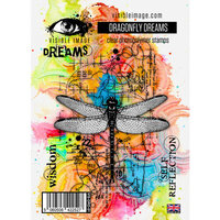 Visible Image - Clear Photopolymer Stamps - Dragonfly Dreams