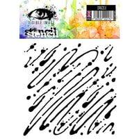 Visible Image - 6 x 6 Stencil - Drizzle