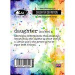 Visible Image - Clear Acrylic Stamps - Daughter Definition