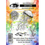 Visible Image - Clear Acrylic Stamps - Dare To Swim