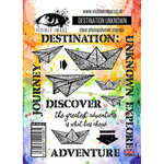 Visible Image - Clear Acrylic Stamps - Destination Unknown