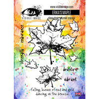 Visible Image - Clear Photopolymer Stamps - Erika's Maple