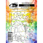 Visible Image - Clear Acrylic Stamps - Elemental