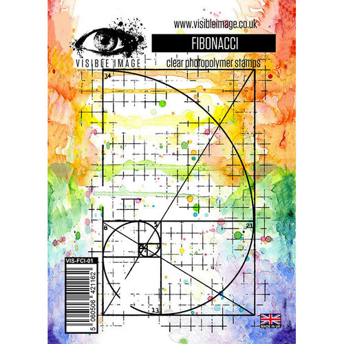 Visible Image - Clear Acrylic Stamps - Fibonacci