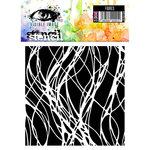 Visible Image - 6 x 6 Stencil - Fibres