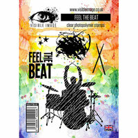 Visible Image - Clear Acrylic Stamps - Feel The Beat
