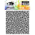 Visible Image - 6 x 6 Stencil - Geometric Maze
