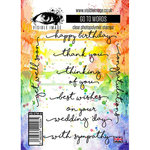 Visible Image - Clear Acrylic Stamps - Go To Words