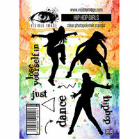Visible Image - Clear Acrylic Stamps - Hip Hop Girls