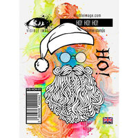 Visible Image - Clear Photopolymer Stamps - Ho Ho Ho