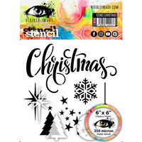 Visible Image - 6 x 6 Stencil - Iconic Christmas