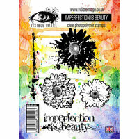 Visible Image - Clear Acrylic Stamps - Imperfection is Beauty